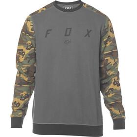 Fox Destrakt Crew Longsleeve Heren grijs/bont